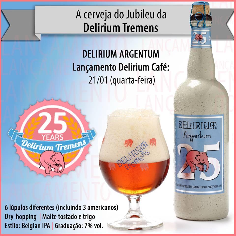 Delirium Café São Paulo lança Delirium Argentum na próxima quarta-feira (21)