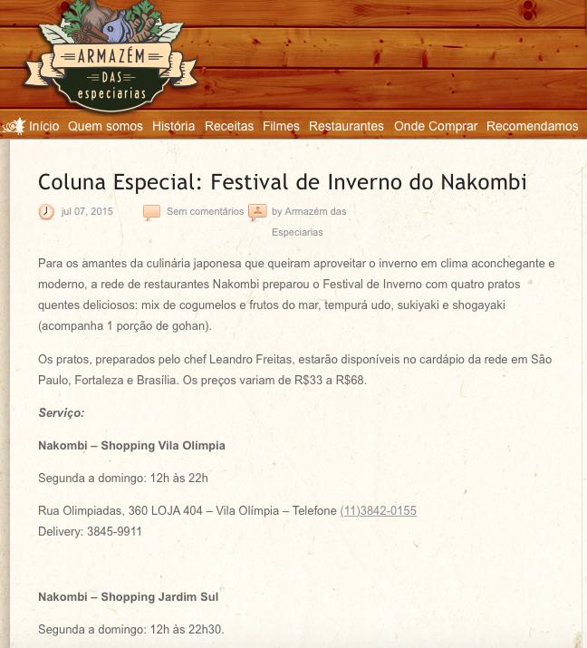 Coluna Especial: Festival de Inverno do Nakombi