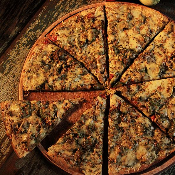 Massas integrais são um dos destaques da Mística Pizza