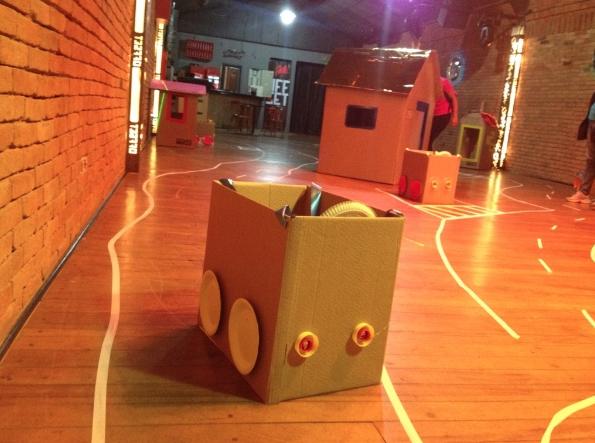 Casa do Brincar estimula o faz de conta das crianças